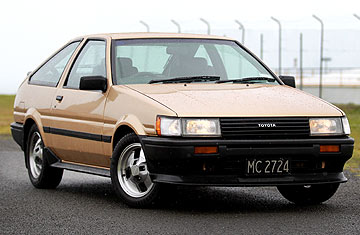 The Toyota AE86.