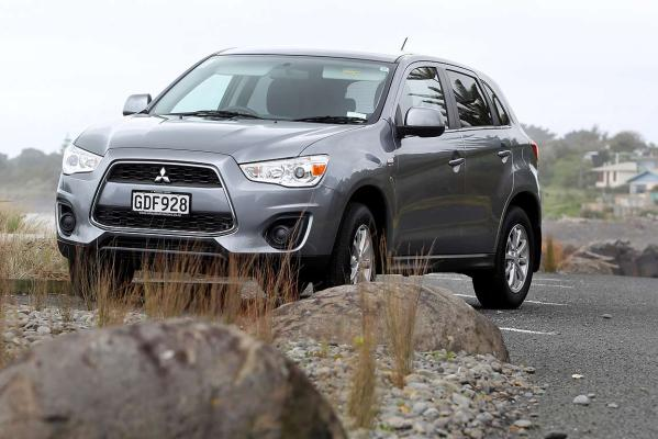 The 2013 Mitsubishi ASX.