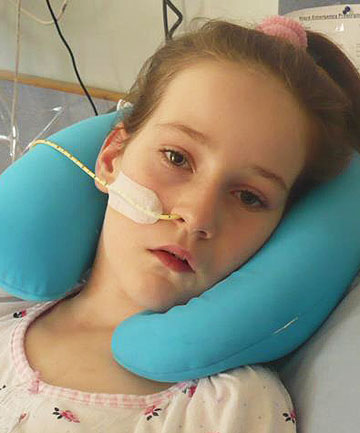 MEDICAL FIRST: Grace Yeats has had a deep brain stimulation, in what is believed to be a medical first for a child in New Zealand.