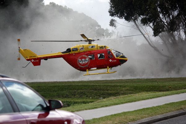 Rescue chopper