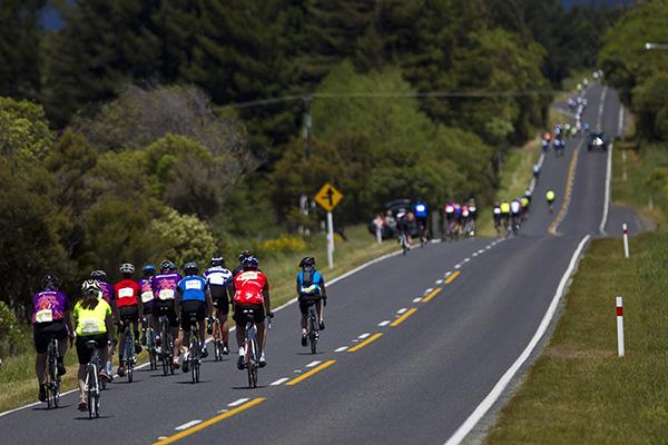 Thousands of riders from around the world converged on Taupo fo