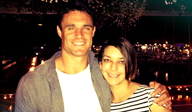 Dan Carter and Cecilia Perez