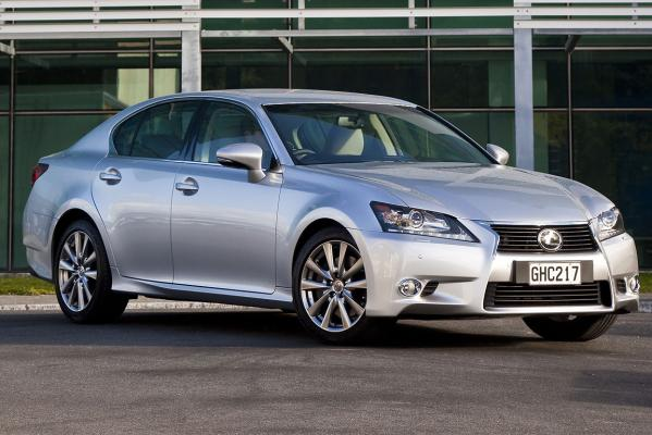 The Lexus GS250.