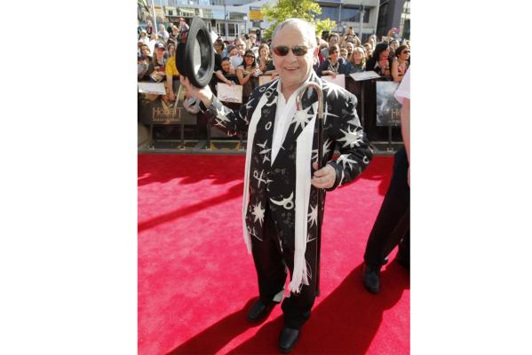 Sylvester McCoy at Hobbit premiere