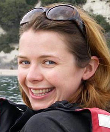 MURDERED: Scottish tourist Karen Aim was bashed to death by Jache Brought