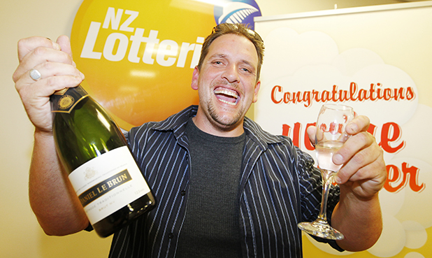BIG WINNER: Former Te Kauwhata man Trevor Cooper, who won more than $26m earlier this year, is just one of 300 million people to win more than $7 billion buying Lotto.