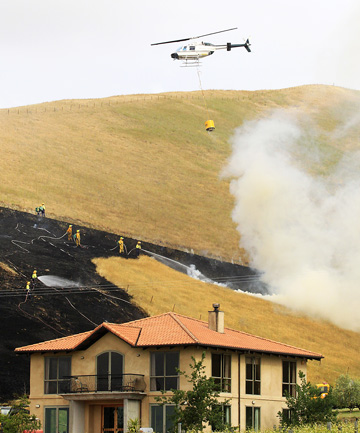 Wither Hills Fire