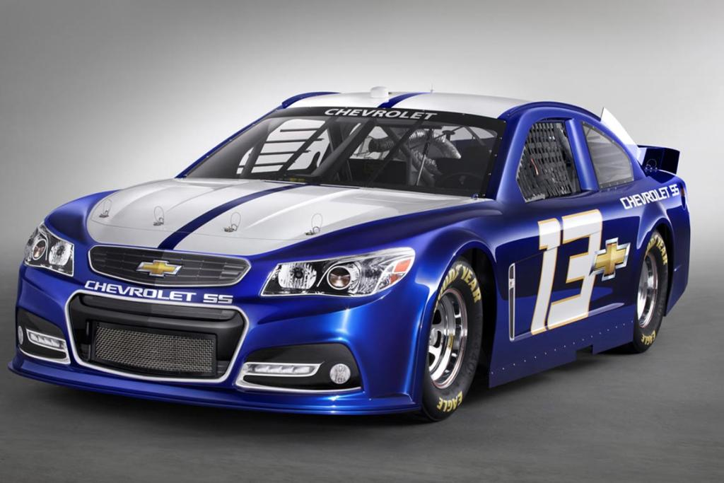 New Chevrolet SS Nascar gives design clues for new