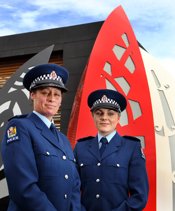 JOIN THE RANKS: Former Wananga students Ngahuia Sheedy and Bonnie Ridley were among the 23 graduates celebrated for their success on Thursday.