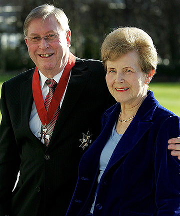 Sir Patrick and Lady Kay Higgins