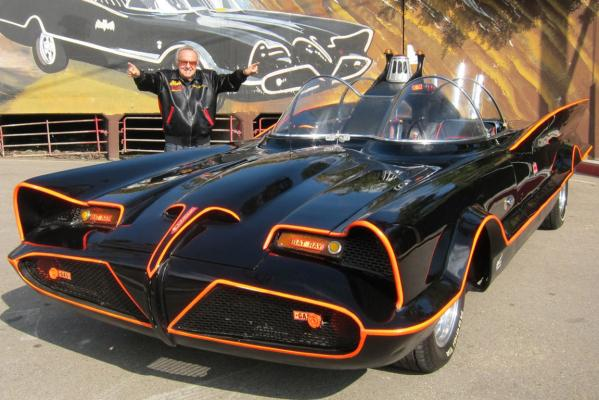 The original 1966 Batmobile.