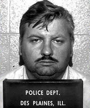 EXECUTED: A police mugshot of serial killer John Wayne Gacy.