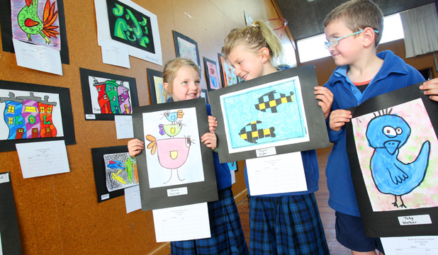 Riverton Primary School silent art auction