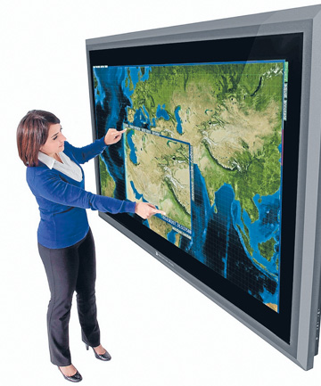 Perceptive Pixel 82-inch multitouchscreen ($97,500)