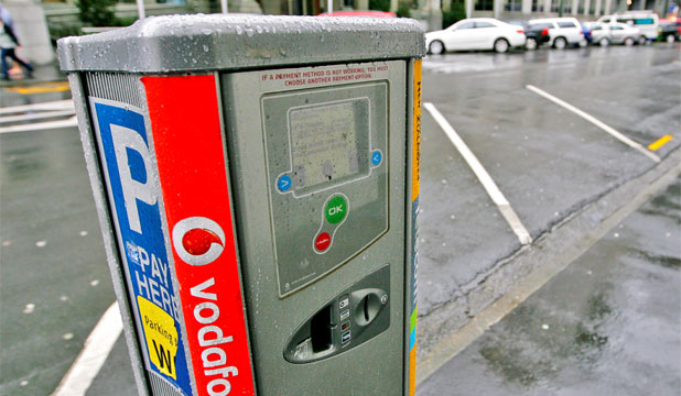 wellington parking meter