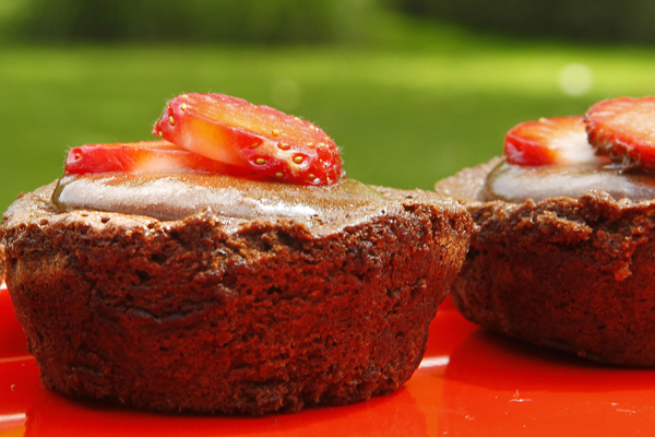 Chocolate Mousse Tea Cakes