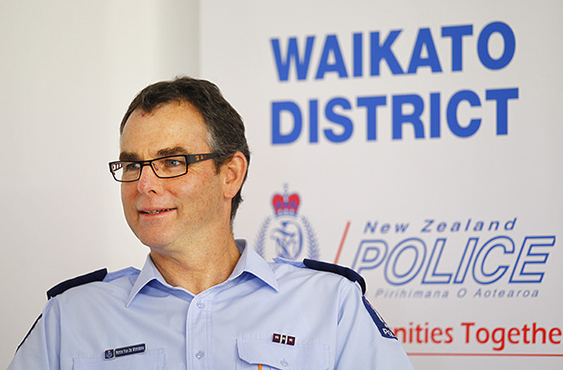 GOOD TIMES, BAD TIMES: Senior Sergeant Peter van de Wetering has seen the worst and best of society during his 35 years with police.