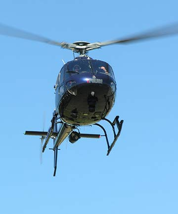 the Eagle helicopter