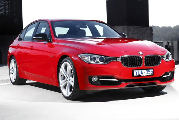 The BMW 3-Series in sports trim.