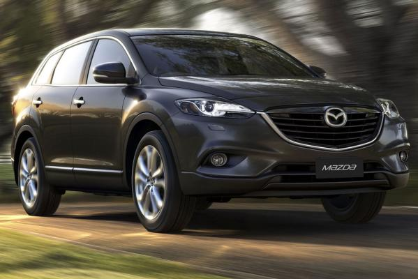 The Mazda CX-9 SUV.