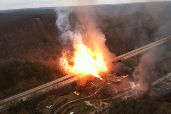 West Virginia gas blast