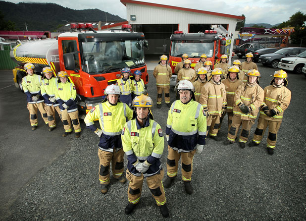 The Ngaruawahia Volunteer Fire Brigade