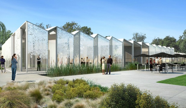 glass-sided visitors' centre to be built in Christchurch's Botanic Gardens