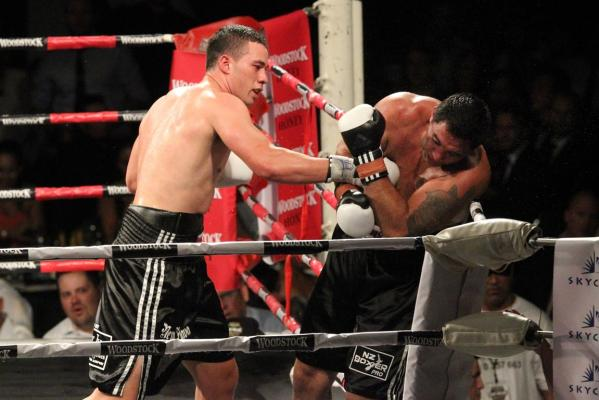 Joseph Parker and Richard Tutaki
