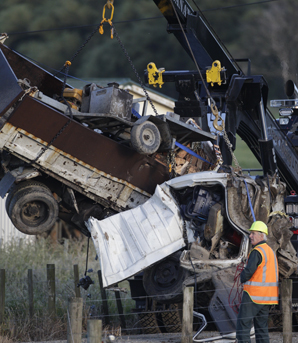 Woodville train crash