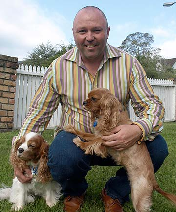 Frazer Dale and dogs