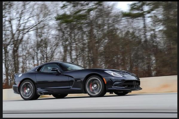 The V10 Dodge SRT Viper.