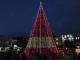 Splash of colour: The Christmas tree lit up in Hamilton's Garden Place. Christmas is a watershed for so many people.