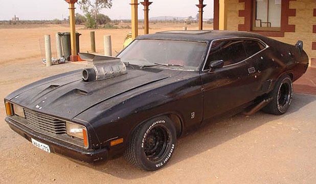 The replica Mad Max Falcon Coupe for sale on an Australia webs