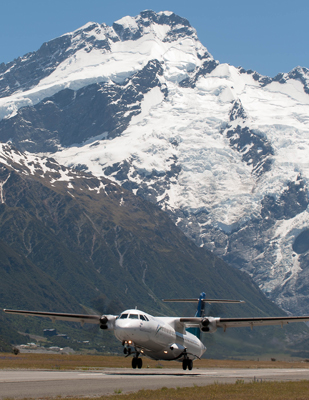 mt cook flights standard