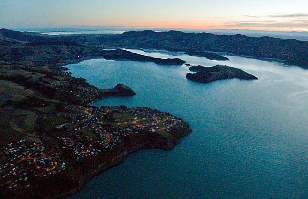 Lyttelton and Port Hills