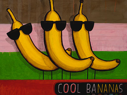 Cool Bananas by Tony Cribb