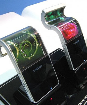 Samsung flexible screens