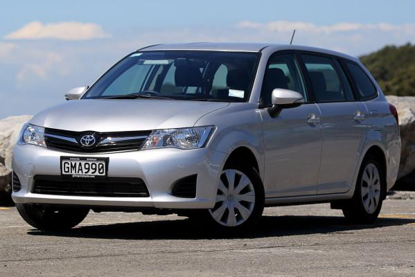 The Toyota Corolla wagon.