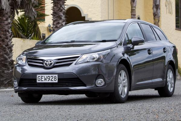 The Toyota Avensis wagon.