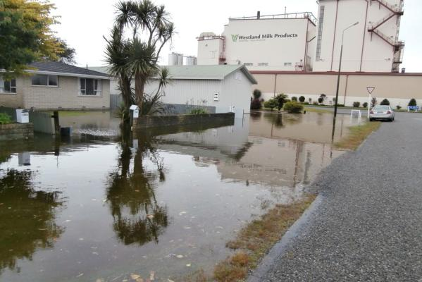 West coast flood