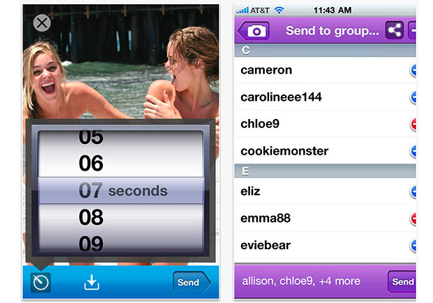 snapchat girl usernames yahoo A subreddit to exchange snapchat usernames and discuss the app itself snapchat is an image sharing application for ios and android where images are only viewable for a certain amount of time.