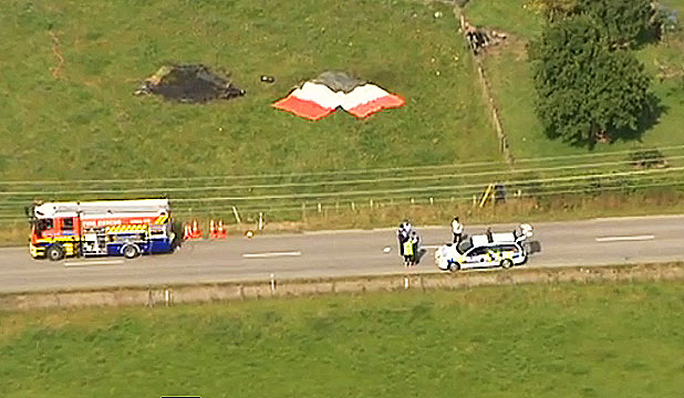 Carterton balloon crash