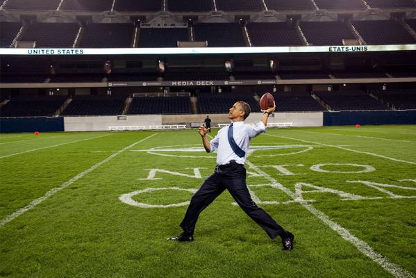 Obama's 2012 in pictures