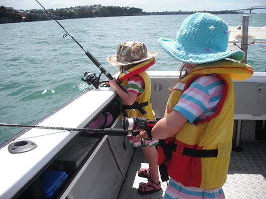 The next generation of Kiwi fishers learn essential lessons.