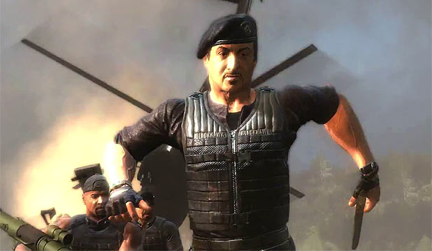 Expendables 2 Video game
