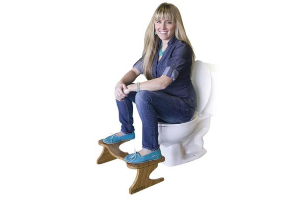 Squatty Potty Girl