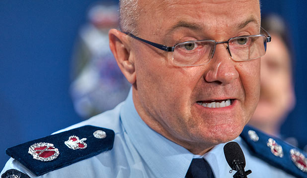 Police Chief Commissioner Ken Lay