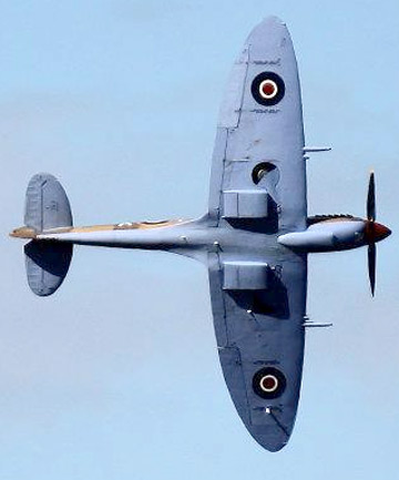 LEGEND: The single-seater Spitfire remains the most famous British combat aircraft.