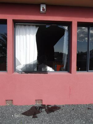 Damage left in the wake of two mini twisters that hit Kaikoura.