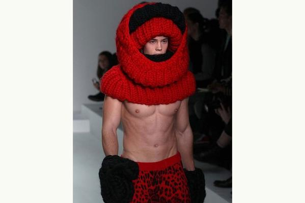 Unintentionally amusing moments from the Men's Fashion Collection in L